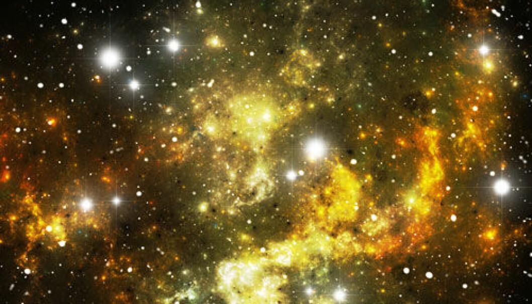 Forskere over hele verden forsøker å finne ut hvordan universet utvider seg. www.colourbox.com