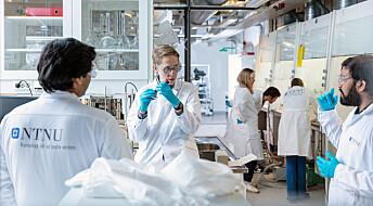 NTNU etablerte fabrikk for å lage koronatester