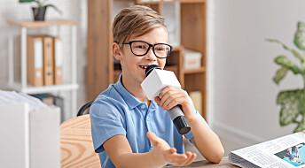 Å lage podkast er god læring for elevene