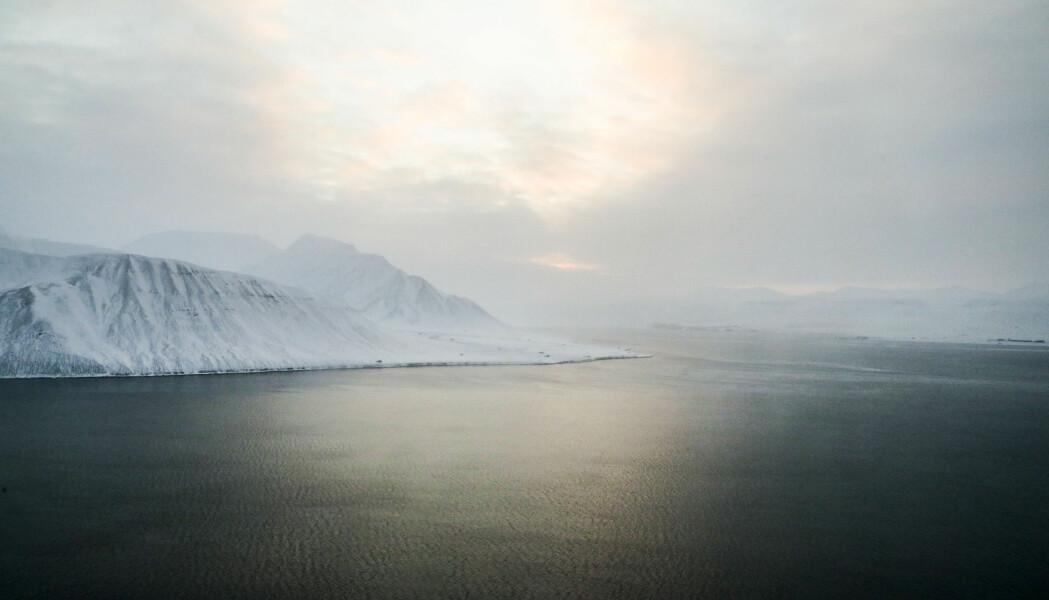 Over Norge var ozonlaget svært tynt rett før påske, opplyste Norsk institutt for luftforskning (NILU). Bildet er fra Svalbard.
