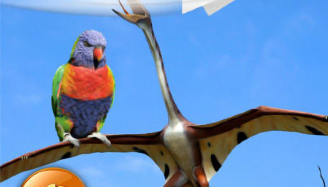 Dinosaurer, fugler og papirfly