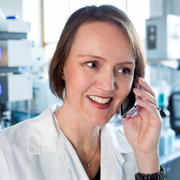 Berit Bjugan Aam vant i 2012 en forskerpris på 200 000 kroner for den nye oppfinnelsen og enzymforskningen som ligger bak. (Foto: Håkon Sparre/UMB)