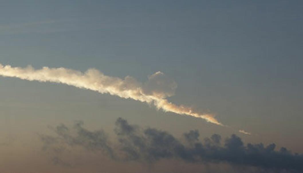 - Russland-meteoritten kan ha truende slektninger