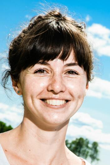 Janka Dibdiakova. (Foto: Gisle Bjørneby / Skog og landskap)