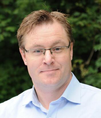 Geir Godager, postdoktor ved UiO og Sivertsens veileder i arbeidet med rapporten. (Foto: (Pressebilde fra UiO))