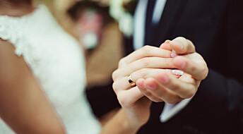 Stadig færre gifter seg med søskenbarn i Norge