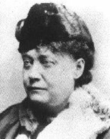 """""""Madame Blavatsky - fargerik okkultist."""""""