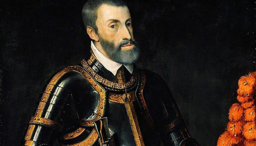Maleri av Charles I av Spania, fra rundt 1550.