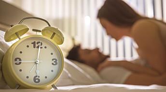 Hvor lenge er det egentlig normalt å ha sex før utløsning?
