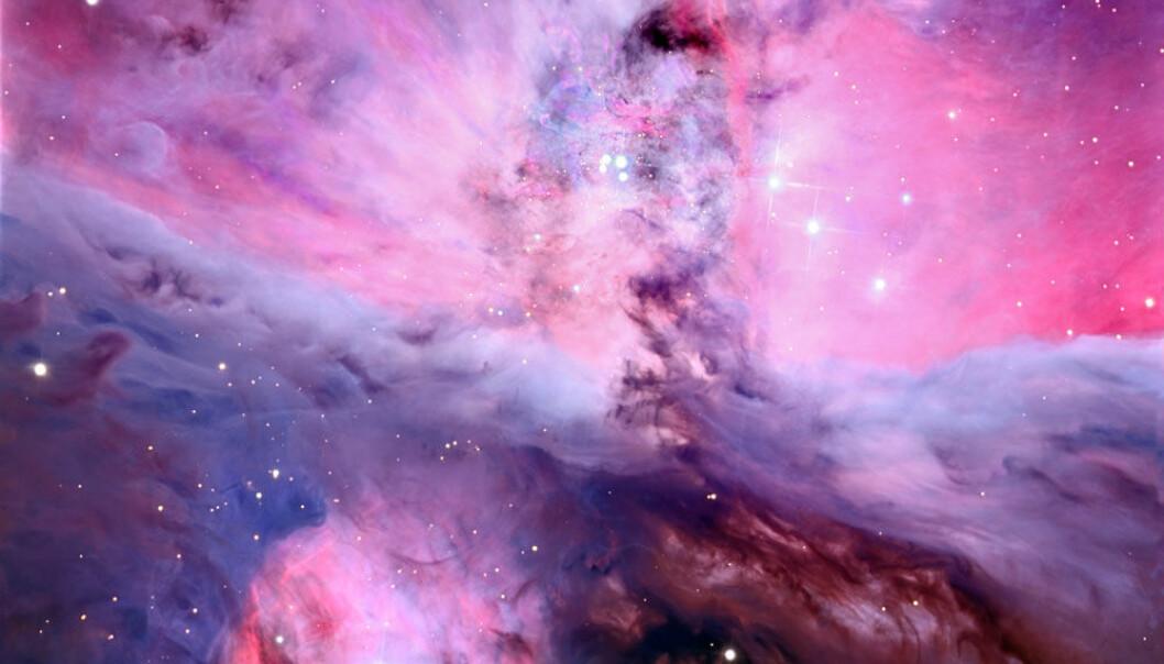 Et bilde av Oriontåken tatt med den nye kamerateknologien. Adam Block/UA SkyCenter