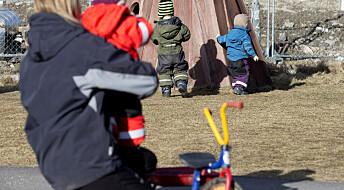 Hva gjør de ansatte i barnehagen når de blir sinte på barna?
