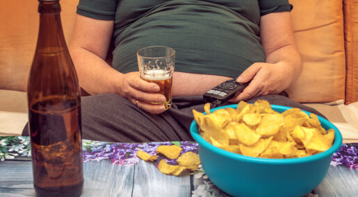 Alkohol lagres ikke i kroppen, men kan likevel påvirke vekta