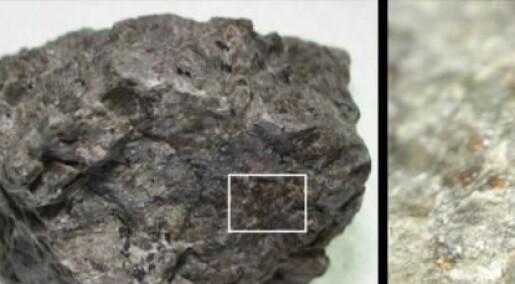 Stoffer i gammel Mars-meteoritt hinter om levelig fortid