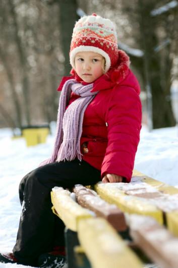 Også førskolebarn kan lide av angst og depresjon. (Foto: www.photos.com)