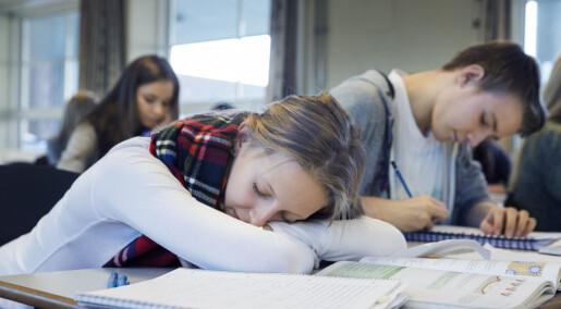 Elever fikk mer søvn med seinere skolestart