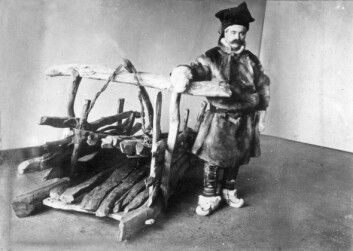 Isak Saba (Foto: G. Gustafson, Tromsø Museum)