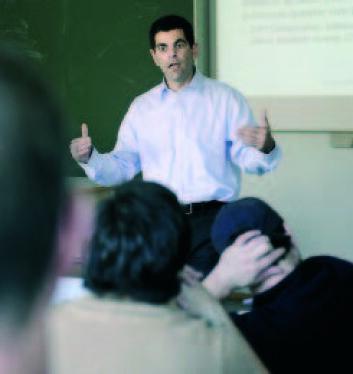Eitan Goldman, forsker ved Kelley School of Business, Indiana University. (Foto: Helge Skodvin)