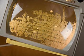UiOs fagmiljø innen papyrologi ble en gang regnet blant de beste i verden. Det er nå i ferd med igjen å bli et viktig senter for papyrologi. (Foto: John Hughes)