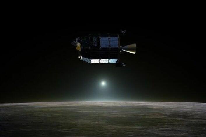 Romsonden LADEE. (Foto: NASA Ames / Dana Berry)