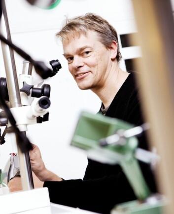 Edvard Moser. (Foto: Geir Mogen / NTNU)