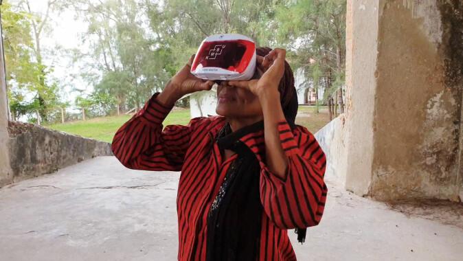 Med VR-brillene på kan du besøke steder og tider som ikke lengre er tilgjengelige for oss.