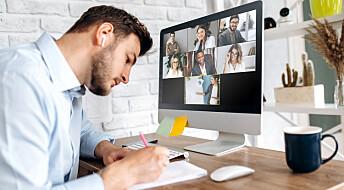 Ti råd for effektive møter på nett