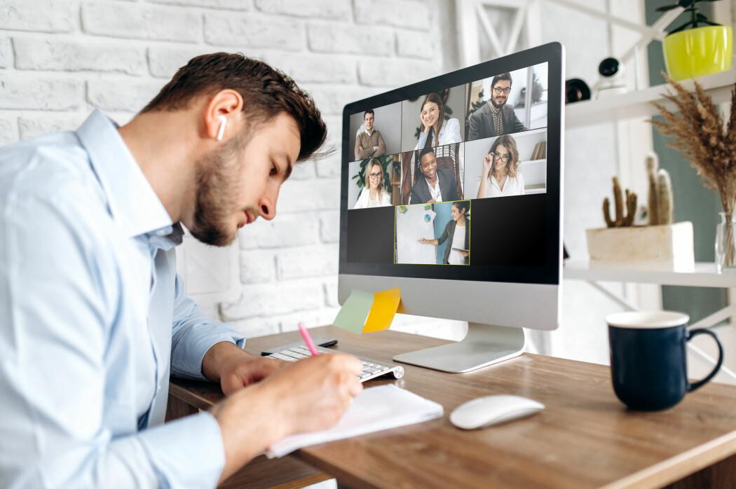 Plutselig ble møter på Teams eller Zoom standarden for mange av oss. Hvordan kan vi gjøre disse møtene mer effektive? Forskning på teamarbeid gir svar. Foto: Girts Ragelis/Shutterstock