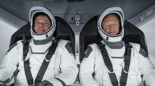 NASA og SpaceX klar for historisk romferd