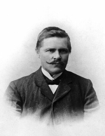 Anders Larsen. (Foto: Ukjent, Tromsø Museum)