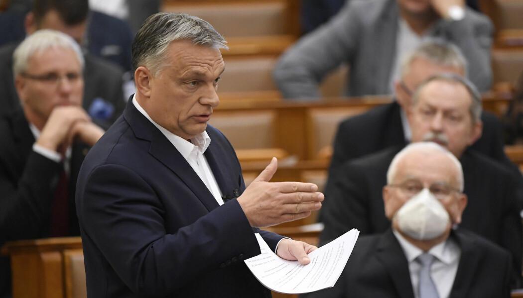 Statsminister Viktor Orbán har ført Ungarn i retning av et autokrati, ifølge en svensk forskningsrapport. For første gang er et EU-land regnet som et ikke-demokrati.