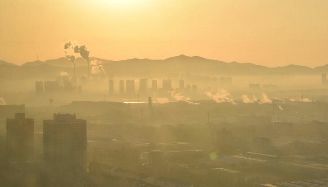 Reduksjonen i luftforurensning har spart mange liv i Kina, ett av verdens mest forurensede land. Her fra byen Yantai.
