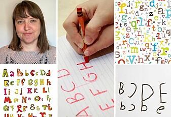 Hvordan lærer barn å skrive bokstaver?