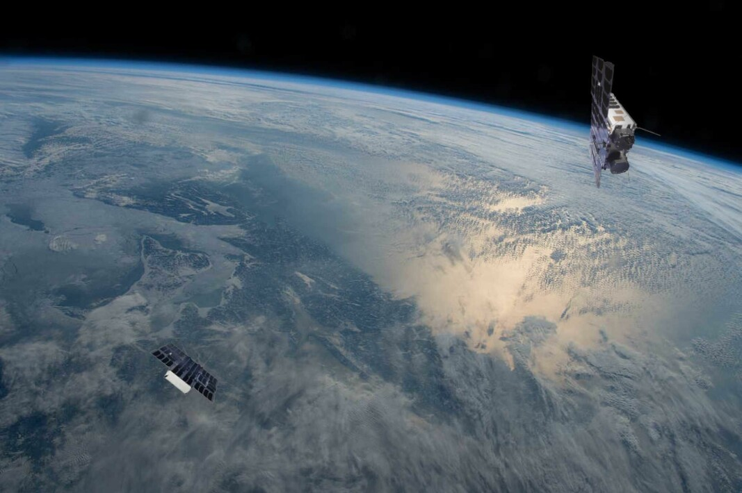 The satellites Birkeland and Huygens weigh up to 10 kilos each and have only 6 liter volume.