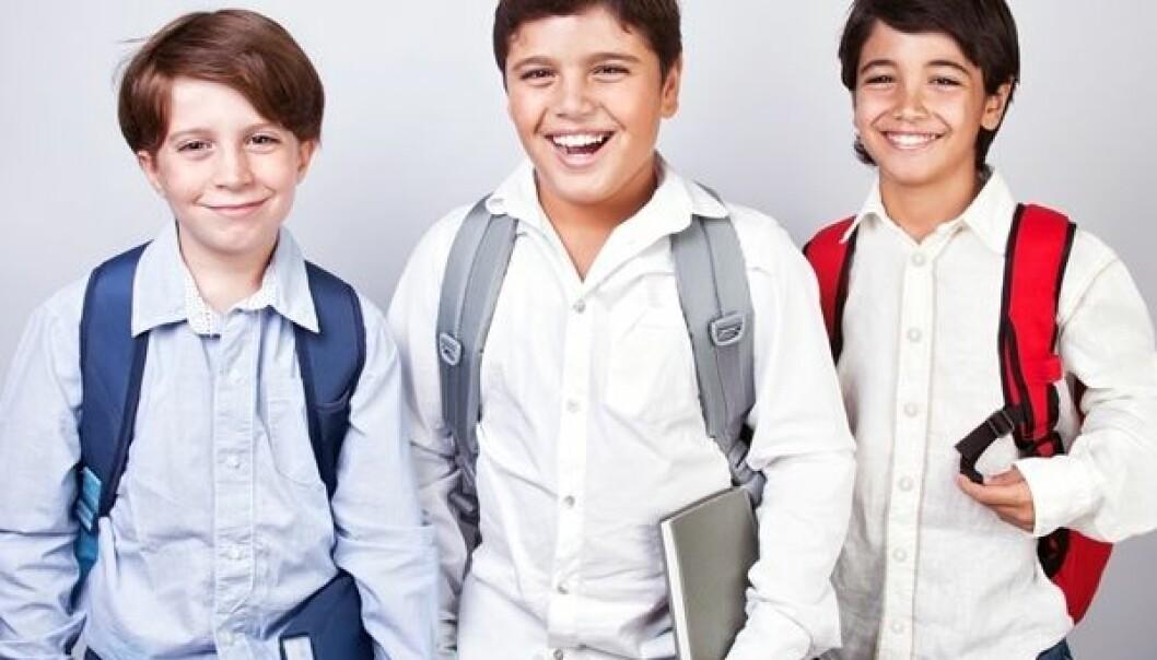 Følsomme og kroppsfikserte skolegutter