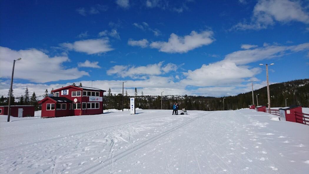 Grova skistadion i Meråker var teststadion for sprintutøverne.