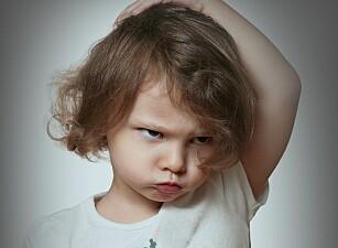 Barnehagebarn får ikkje vere sinte