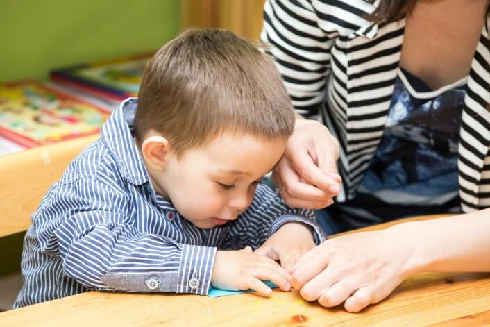 61 barn med autisme deltok i åtte ukers behandling i barnehagen. (Foto: Microsoft)