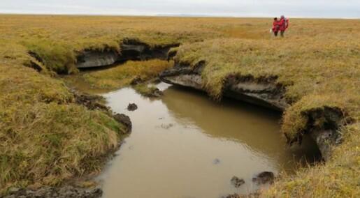 Permafrosten i Arktis kan tine raskere enn vi har trodd