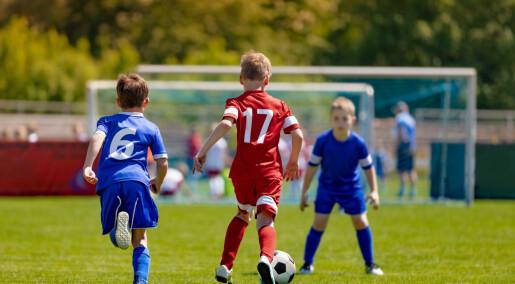 Minst risiko for koronasmitte på fotballbanen blant barn, unge og mosjonister
