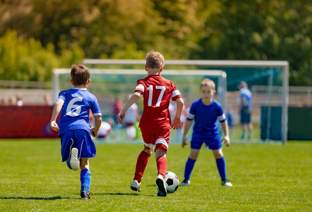 De nye analysene viser at spillere i breddefotball er innen en avstand på halvannen meter i 60 sekunder i løpet av en times spill.