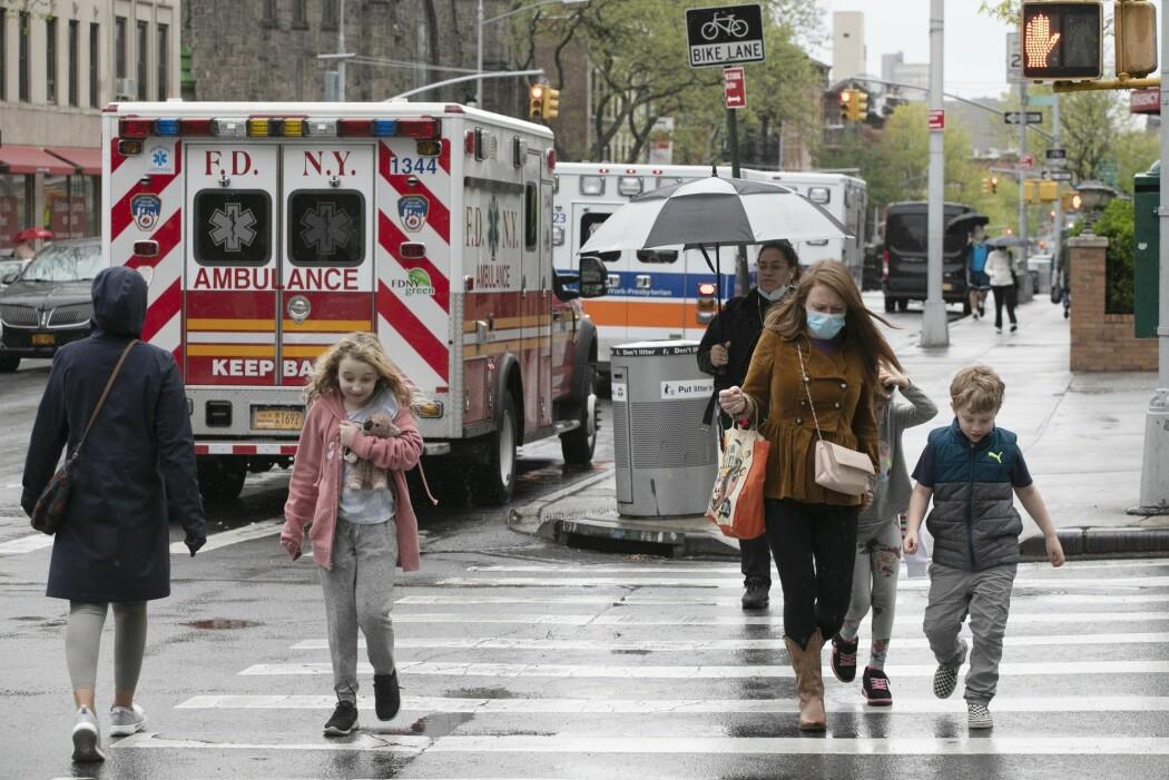 Covid-19-pandemien har rammet New York hardt. Forskere vet foreløpig ikke hvor mye resistente bakterier betyr for dødstallene i ulike land.