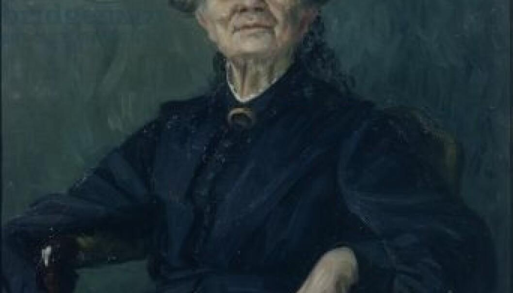 Aasta Hansteen. (Maleri: Marie Hauge / Drammen museum)