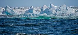 Stadig mindre havis i Arktis