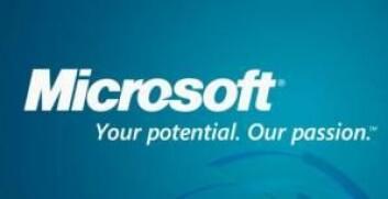 Microsofts slagord «Your potential. Our passion» er, ifølge Johanne Lundgren, svært virkningsfullt fordi det rommer både sjarme og en sterk merkevare. (Foto: (Logo: Microsoft))