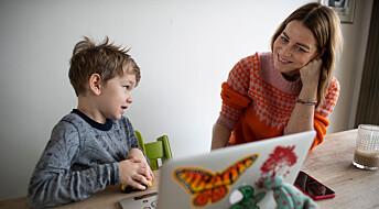De minste elevene hadde minst kontakt med læreren i tiden med hjemmeskole