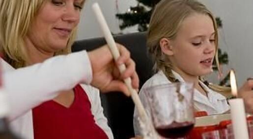 Mor og far er minst likestilt når julen skal forberedes