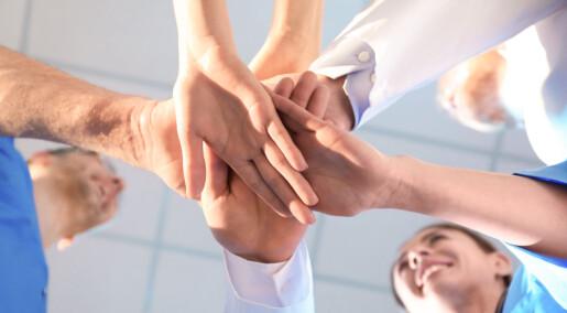 Tanker om å være med på noe stort kan gi bedre omsorgstjeneste