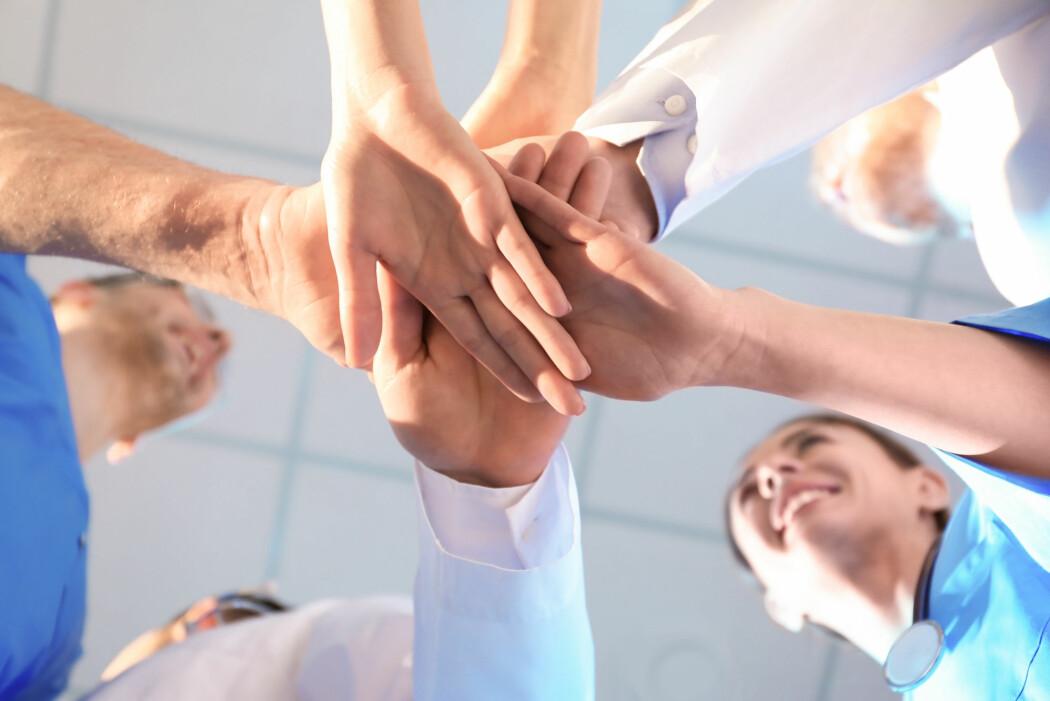 En gruppe forskere ved Nord universitet har undersøkt hvordan flere, ulike yrkesgrupper best kan samarbeide for at en omsorgstjeneste skal bli best mulig.