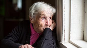 Omsorgsfulle kvinner og nevrotiske menn blir oftare einsame som gamle