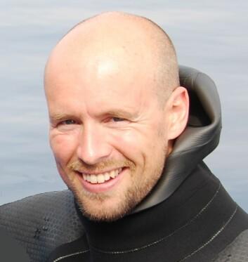Even Moland. (Foto: Havforskningsinstituttet)